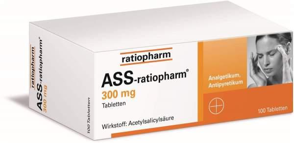 ASS-ratiopharm 300 mg 100 Tabletten
