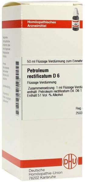 Dhu Petroleum Rectificatum D6 50 ml Dilution