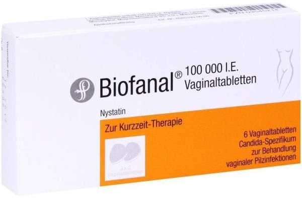 Biofanal 6 Vaginaltabletten