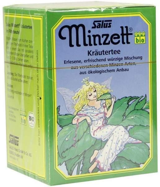 Minzett Kräutertee Beutel Salus