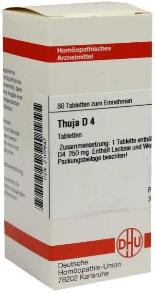 Thuja D4 80 Tabletten