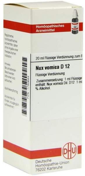 Nux Vomica D 12 20 ml Dilution