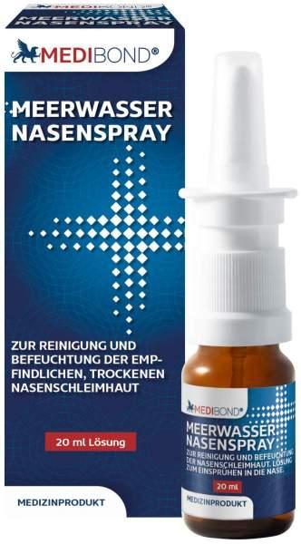 Medibond Meerwasser Nasenspray 20 ml