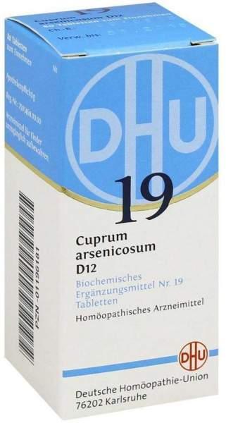 Biochemie Dhu 19 Cuprum Arsenicosum D12 80 Tabletten