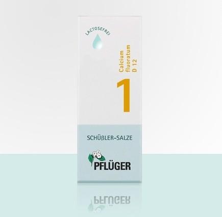 Biochemie Pflüger 1 Calcium Fluoratum D12 Dilution