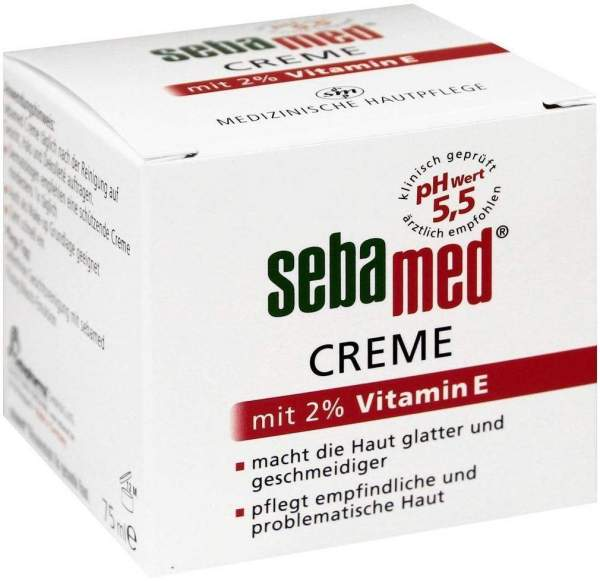 Sebamed Creme Mit 2% Vitamin E 75 ml Creme