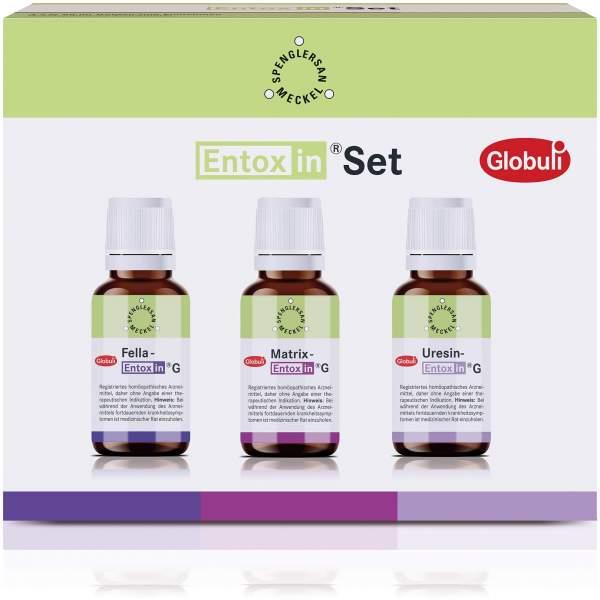 Entoxin Set G 3 X 10 G Globuli
