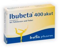 Ibubeta 400 akut Filmtabletten 50 Tabletten