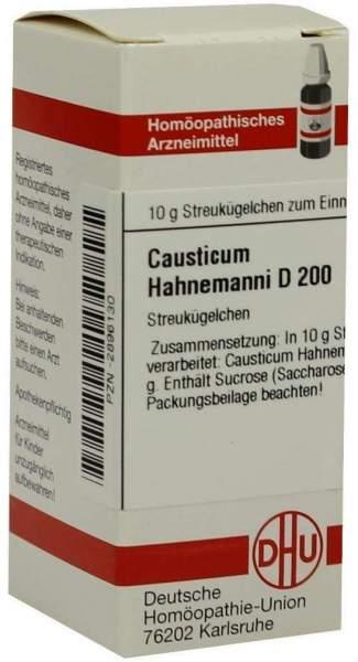 Causticum Hahnemanni D 200 Globuli