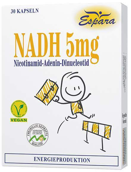 Nadh 5 mg Kapseln 30 Kapseln