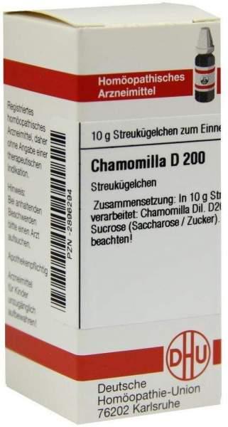 Chamomilla D 200 Globuli