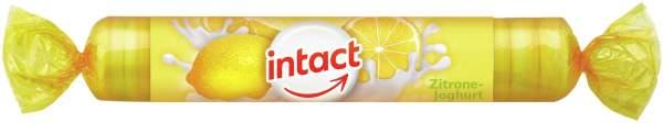Intact Traubenzucker Zitrone Joghurt 40 G Rolle
