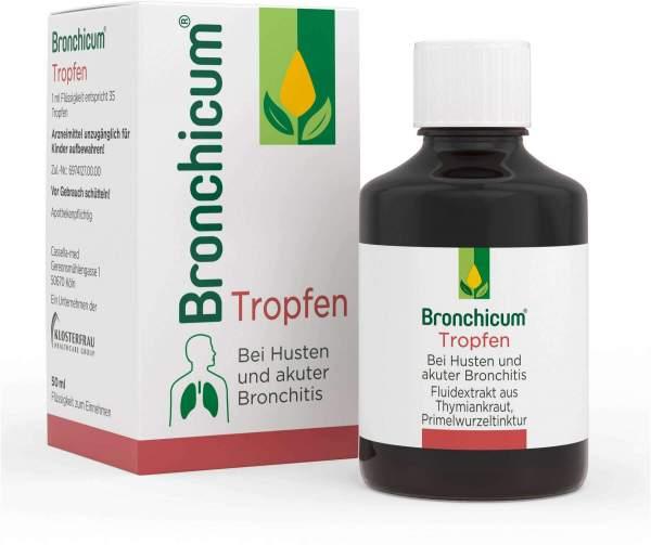 Bronchicum Tropfen 50 ml
