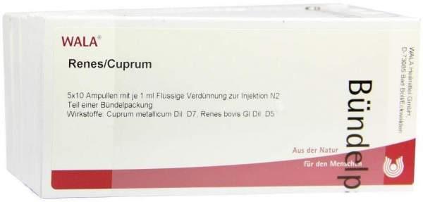 Renes Cuprum Ampullen 50 X 1 ml