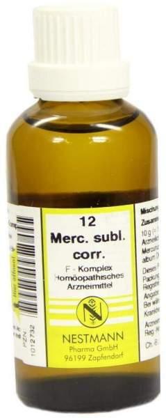 Mercurius Subl. Corr. F Komplex Nr. 12 50 ml Dilution