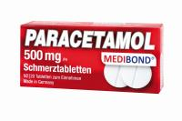 Paracetamol Medibond 500mg Schmerztabletten 20 St.