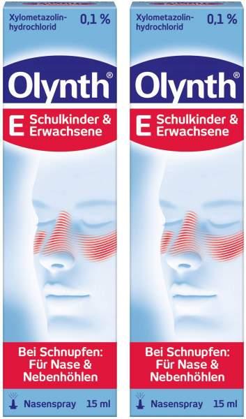 Olynth 0,1% Nasenspray für Erwachsene 2 x 15 ml