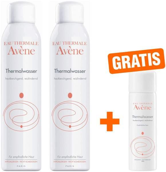 Avene Thermalwasser Spray 2 x 300 ml + gratis 50 ml