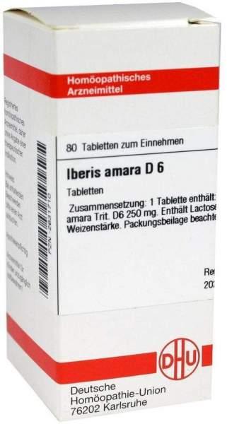 Iberis Amara D6 80 Tabletten