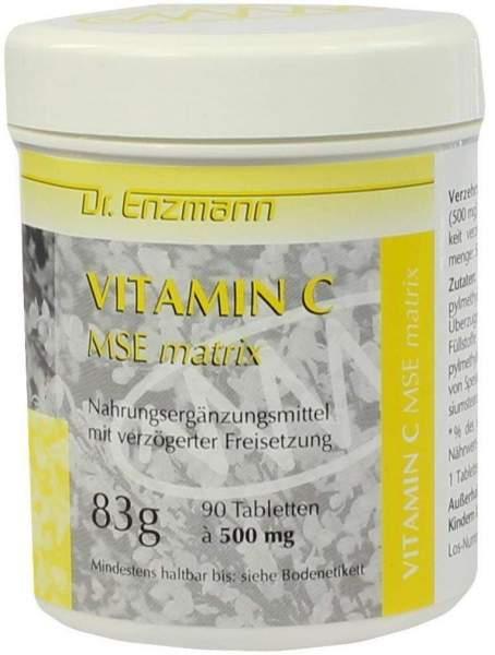 Vitamin C Mse Matrix 90 Tabletten