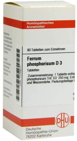 Ferrum Phos. D3 80 Tabletten