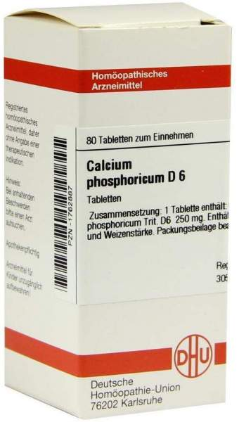Calcium Phosphoricum D6 80 Tabletten