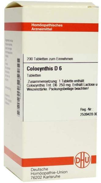 Colocynthis D6 200 Tabletten
