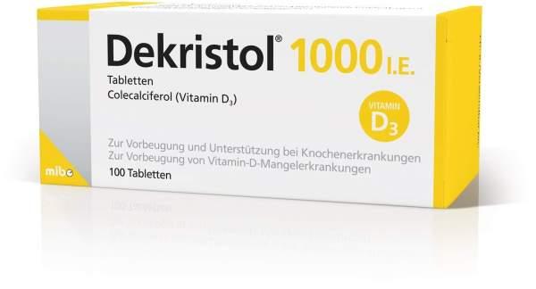 Dekristol 1.000 I.E. 100 Tabletten