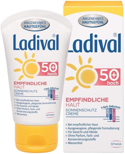 Ladival Empfindliche Haut Gesicht LSF 50+ 50 ml Creme