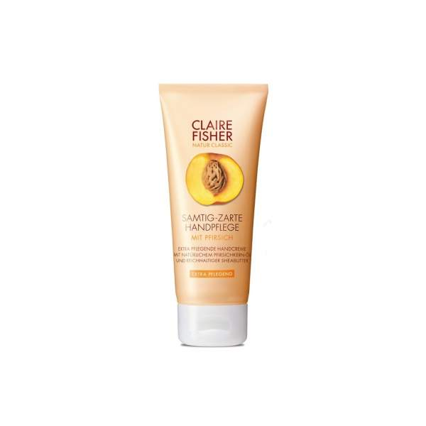 claire fisher natur classic pfirsich handcreme 60 ml bei. Black Bedroom Furniture Sets. Home Design Ideas
