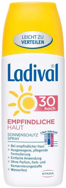 Ladival Empfindliche Haut LSF 30 150 ml Spray