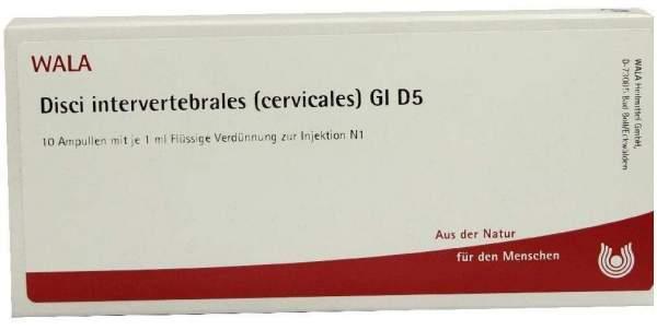 Wala Disci Intervertrebrales Cervicales Gl D5 10x1ml Ampullen