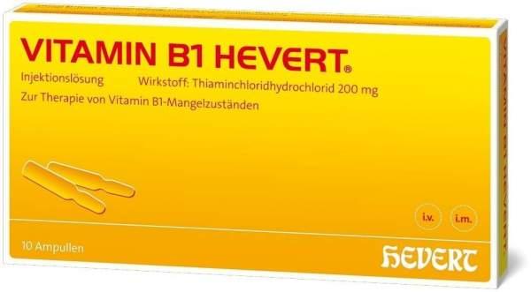 Vitamin B1 Hevert 10 Ampullen