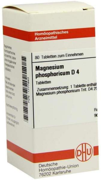 Magnesium Phos. D4 80 Tabletten
