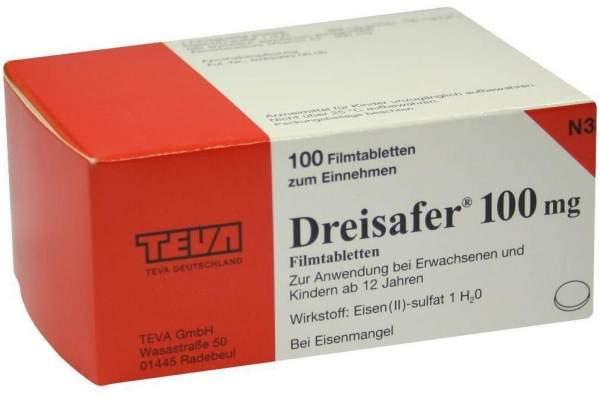 Dreisafer 100 mg 100 Filmtabletten