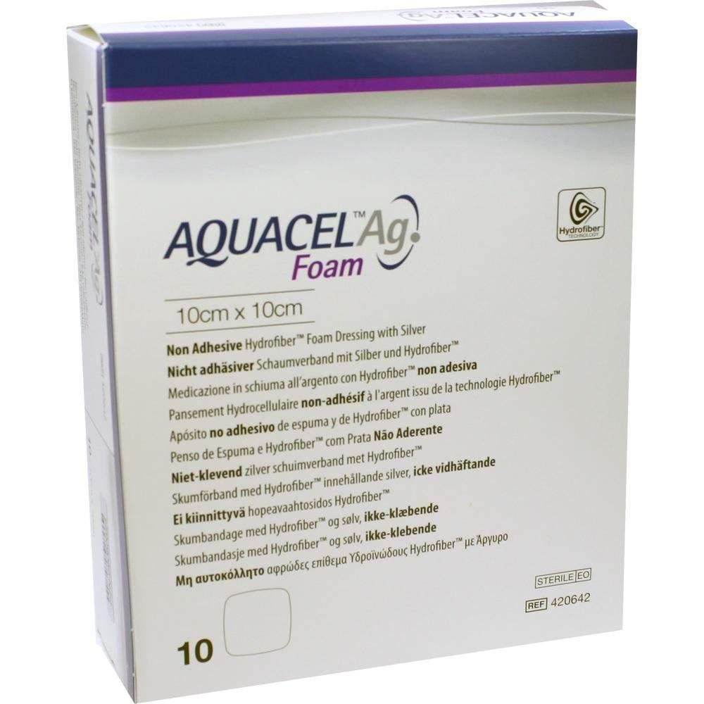 Aquacel AG Foam Nicht Adhäsiv 10x10 C