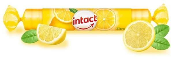 Intact Traubenzucker Zitrone 1 Rolle