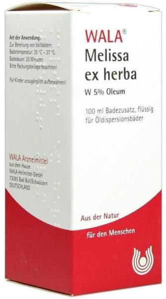 Wala Melissa Ex Herba W 5% Oleum