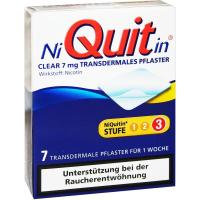 Niquitin Clear 7 mg Transdermale Pflaster