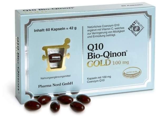 Q10 Bio Qinon Gold 100 mg 60 Kapseln