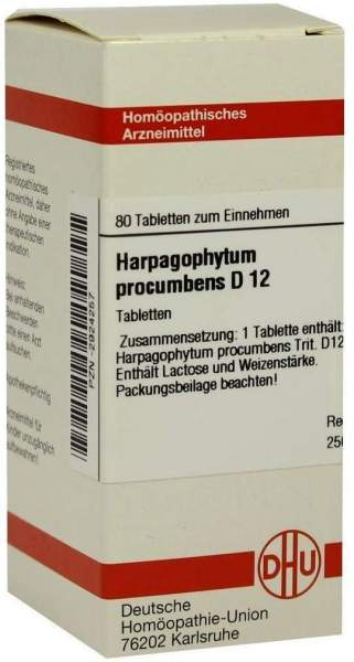 Harpagophytum Procumbens D12 Dhu 80 Tabletten