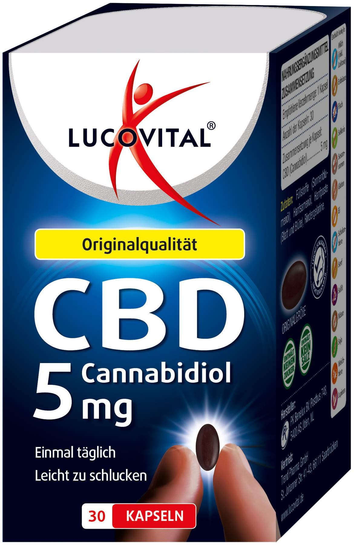 lucovital cannabidiol kapseln 5 mg 30 st ck kaufen. Black Bedroom Furniture Sets. Home Design Ideas