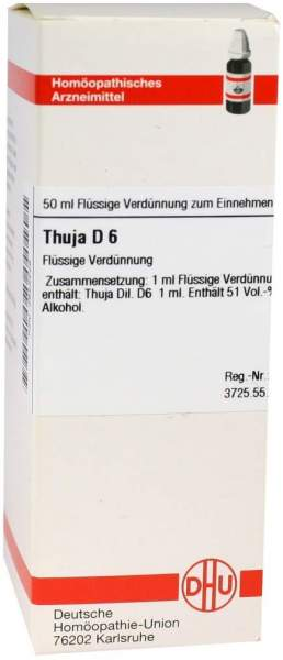 Thuja D6 50 ml Dilution