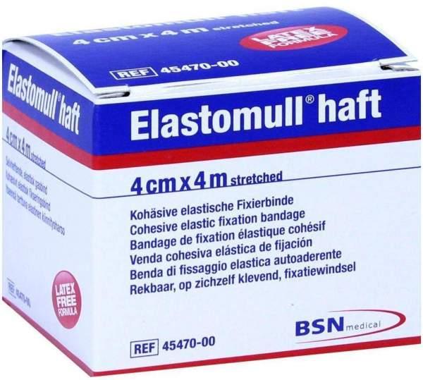Elastomull Haft 4 M X 4 cm 1 Fixierbinde
