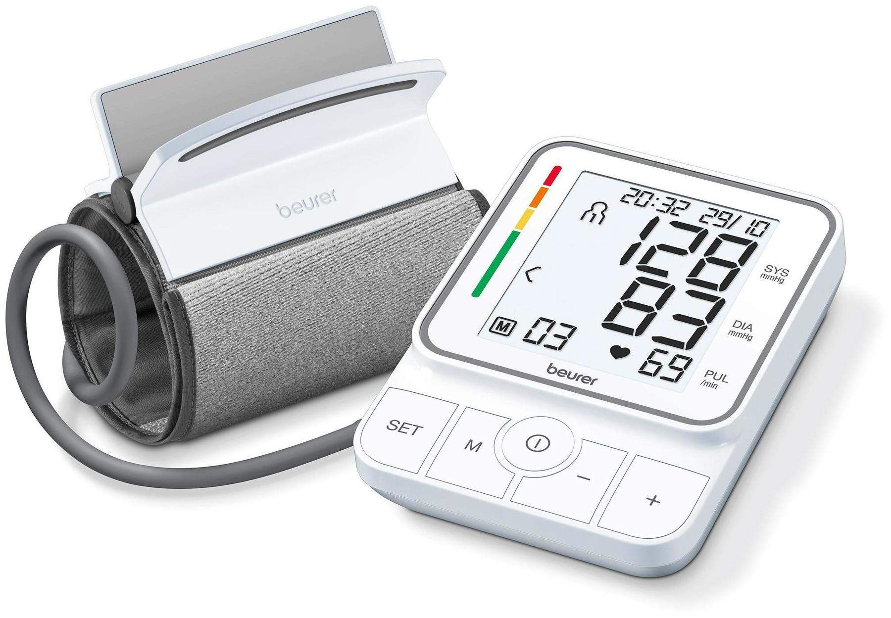 BEURER BM51 easyClip Oberarm-Blutdruckmessgerät