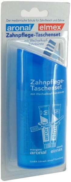 Zahnpflege 1 Taschenset Elmex und Aronal