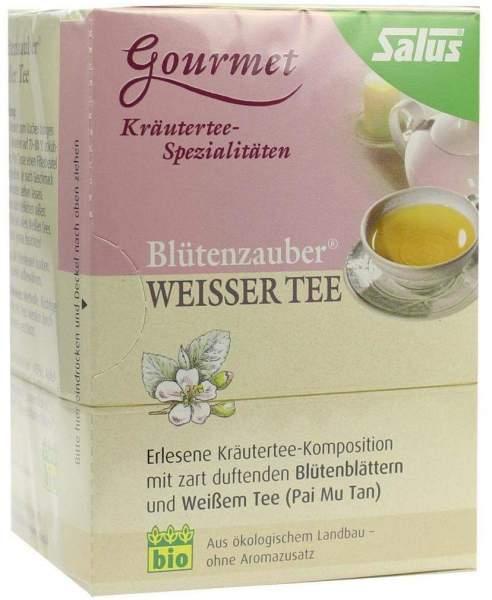 Weißer Tee Blütenzauber Salus 15 Filterbeutel