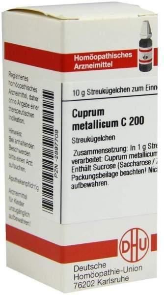Cuprum Metallicum C 200 Globuli