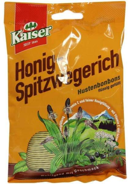 Kaiser Honig Spitzwegerich 90 G Bonbons