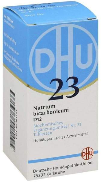 Biochemie Dhu 23 Natrium Bicarbonicum D12 Tabletten 200 Tabletten